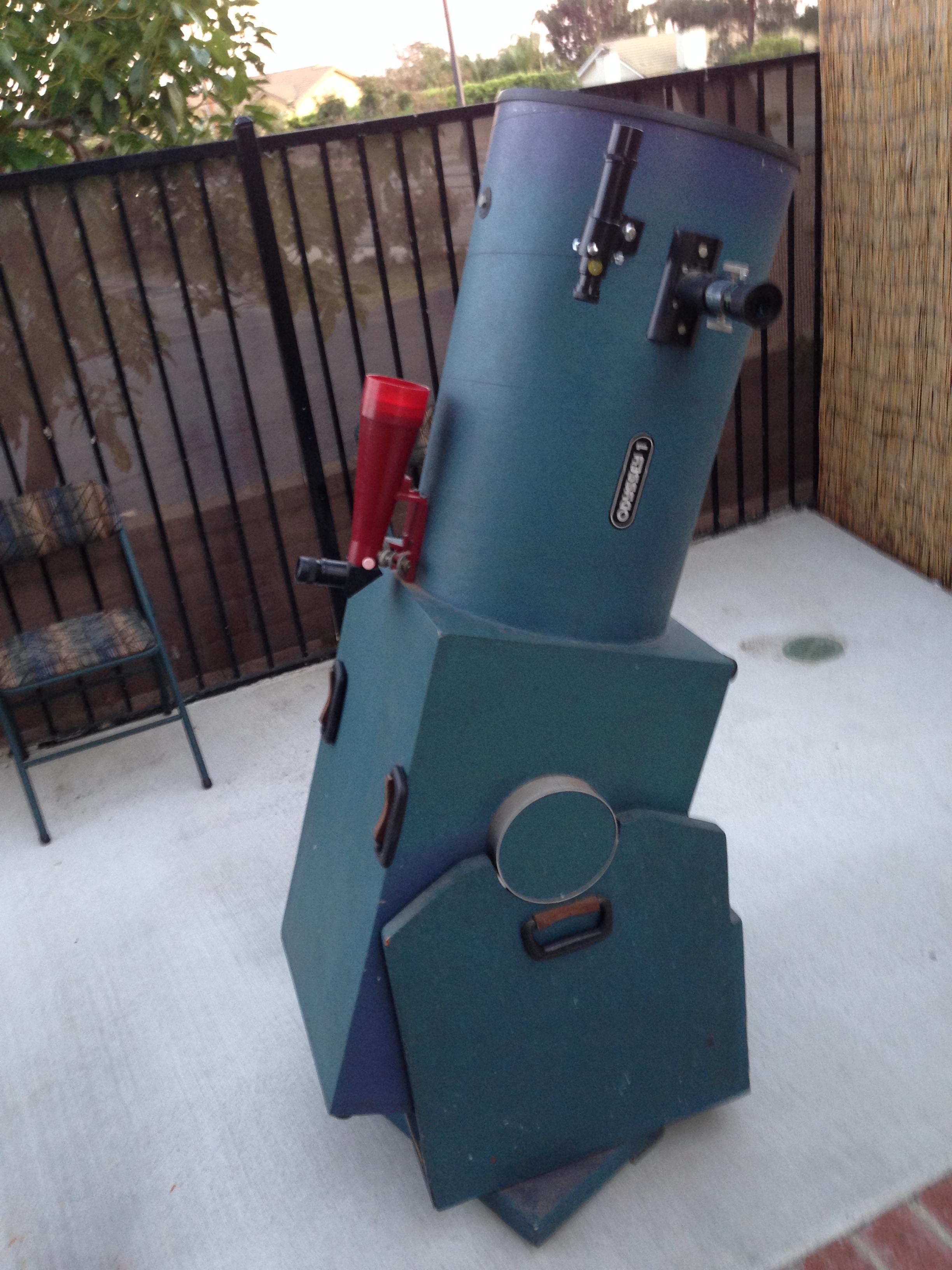 Odyssey 1 13 Inch Dobsonian Telescope